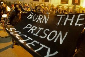 December 31st 2012 Noise Demo outside the Metropolitan Correctional Center (MCC) in Manhattan.